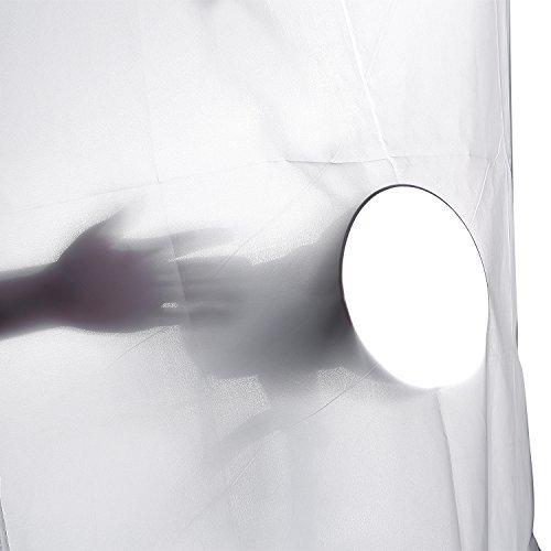 Neewer® 2 Yard x 60 Zoll / 1.8 x 1,5 M Nylon Seide weiß nahtlose Diffusion Gewebe Diffusor Stoff für Fotografie-Softbox, Lichtzelt und Beleuchtung Licht-Modifizierer