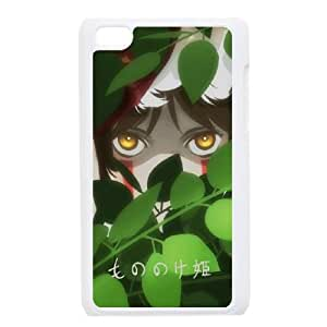 Princess Mononoke San iPod Touch 4 Case White&Phone Accessory STC_070592