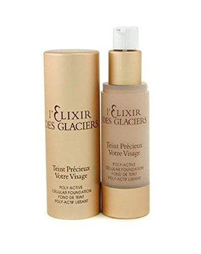 Valmont Face Care 1 Oz L'Elixir Des Glaciers Teint Precieux Poly Active Cellular Foundation - #Amber Beige In Florence For Women