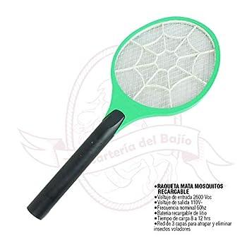Raqueta mata mosquitos recargable HG 8808 Hogar y Cocina Productos Handmade