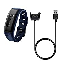BlueBeach® Replacement Garmin Vivosmart HR / HR+ USB Charging Dock Cable Charger with Data Sycn Function
