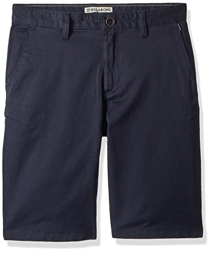Billabong Boys' Carter Stretch Shorts Navy - Fly Billabong Zip Shorts