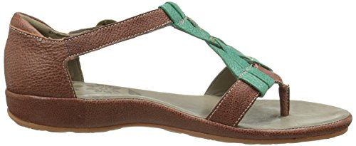 KEEN mujers City Of Palms Posted Sandal, negro/Tortoise Shell, 9 M US Marrón - marrón