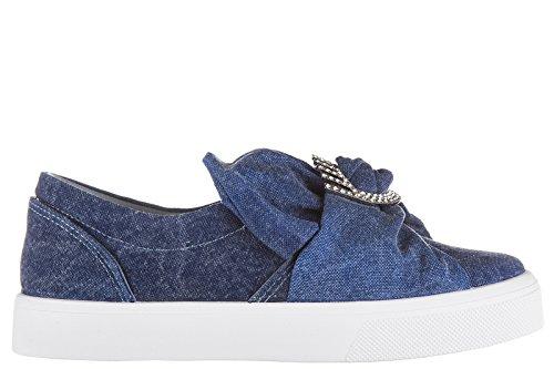 Chiara Ferragni slip on femme sneakers blu