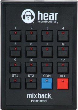 Mix Technologies Hear (Hear Technologies Mix Back Talkback Remote)