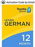 Rosetta Stone: Learn German for 12 months on iOS, Android, PC, and Mac- mobile & online access [PC/Mac Online Code]