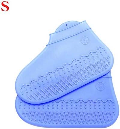 KISSION シリコンシューズカバー防水 シリコンシューカバー 防水シリコンシューズカバー レインブーツ 再利用可能 滑り止めシューカバー 防水