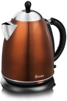 Swan Metallic Kettle 1.7 Litre 3000 Watt Copper