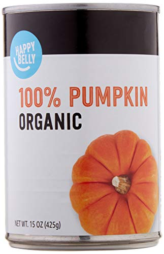 Amazon Brand - Happy Belly Organic 100% Pumpkin, 15 Ounces