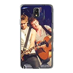 Anti-Scratch Hard Phone Case For Samsung Galaxy Note3 With Unique Design HD Mcfly Band Image ChristopherWalsh