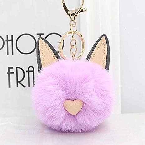 Amazon.com: YPT - Llavero con diseño de orejas de gato para ...