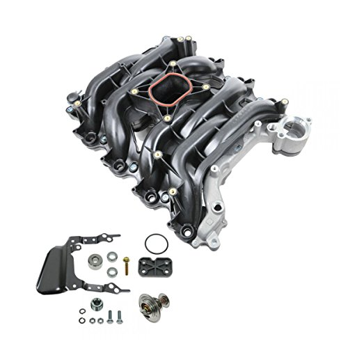 Intake Manifold w/Thermostat & Gaskets Kit for Ford Lincoln Mercury 4.6L (Mercury Intake Manifold)