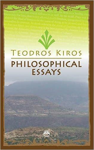 philosophical essays teodros kiros amazon com books