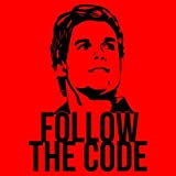 Shirtcity Follow The Code Dexter Cooking Apron One Size Red