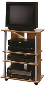 FMD 205-007 TV/HiFi Regal Variant 7 - B/H/T: 65.0 x 85.0 x 40.0 cm, Buche