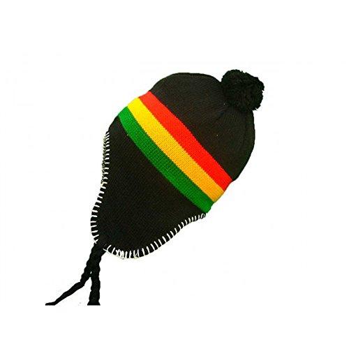 punto Talla Bonnet de negro negro única para Company hombre Gorro qwgptx8