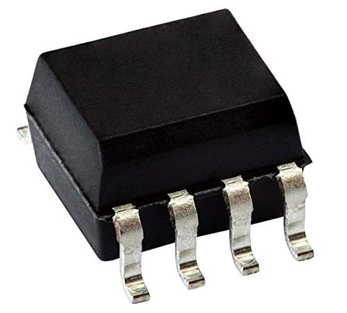 Transistor Output Optocouplers Phototransistor Out Dual CTR gt; 100-200% Pack of 100 (ILD1207T)