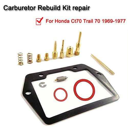 Carb Rebuild Kit,Carburetor Rebuild Kit For Honda CT70 Trail 70 1969-1977