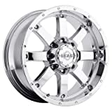 Gear Alloy 726C BIG BLOCK Wheel with Chrome Finish (20x9''/8x6.5'', +18mm Offset)