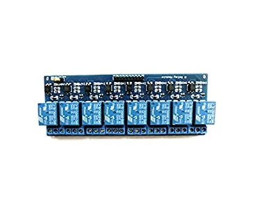 HaoYiShang 8-Channel 12V Relay Shield Module For Arduino UNO 2560