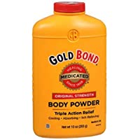 Gold Bond Med Pwdr Size 10Z Medicated Powder Triple Action Relief(Pack Of 2)