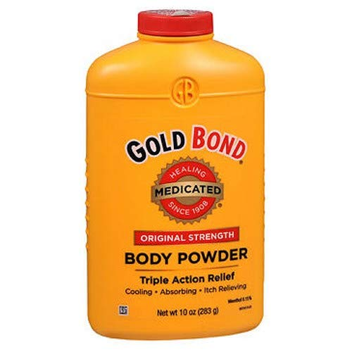 Gold Bond Med Pwdr Size 10z Gold Bond Medicated Powder Triple Action Relief(Pack of - Ingredients Bond Powder Gold