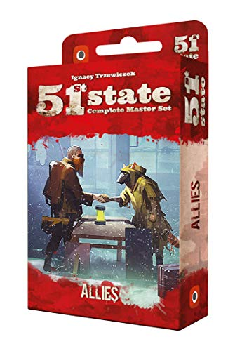 Portal Games 51st State Allies Game (Lone Wolf The Board Game)