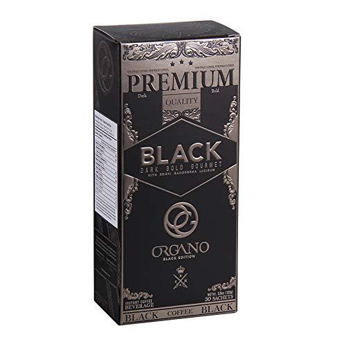 - Organo Gold Gourmet Premium Black Coffee Made With Antioxidant Rich Organic Ganoderma Lucidum U.S.A. Packaging (1 Box)
