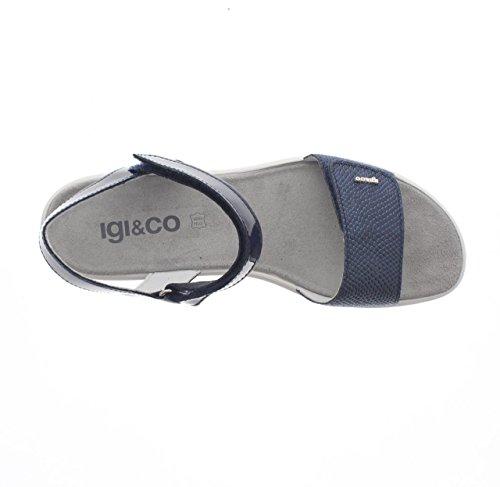 Igi&Co - Sandalias de vestir para mujer blu - 800