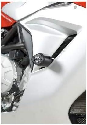 R/&G RACING Tampons de Protection Aero Noir MV Agusta