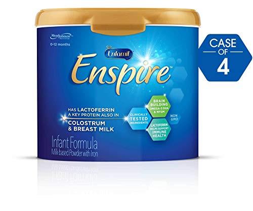 Enfamil Enspire Infant Formula, Powder, 20.5 Ounce Reusable Tub (Special Deals 4 Cases)