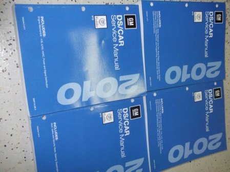 2010 Cadillac STS S T S Service Repair Shop Manual Set FACTORY BOOKS OEM 10