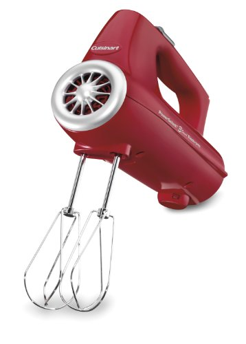 Cuisinart CHM-3R Electronic Hand Mixer 3-Speed, Red by Cuisinart
