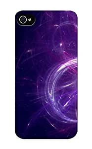 Summerlemond 6fdcf0a6 Protective Case For Iphone 5/5s(abstract Purple Digital Art Artwork ) - Nice Gift For Lovers
