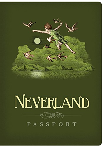 Passport to Neverland Mini Notebook