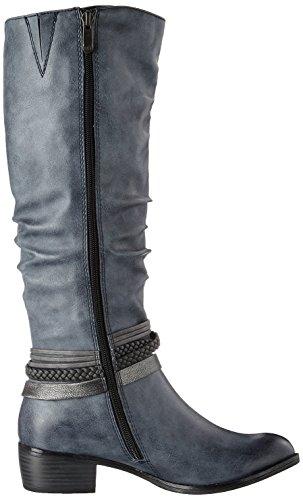 Marco Tozzi Damen 25507 Stiefel Blau (Navy Antic Com)