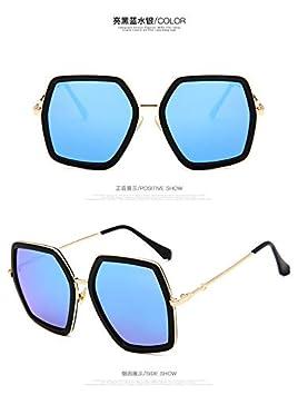 Influx People - Gafas de sol con marco grande para mujer y ...