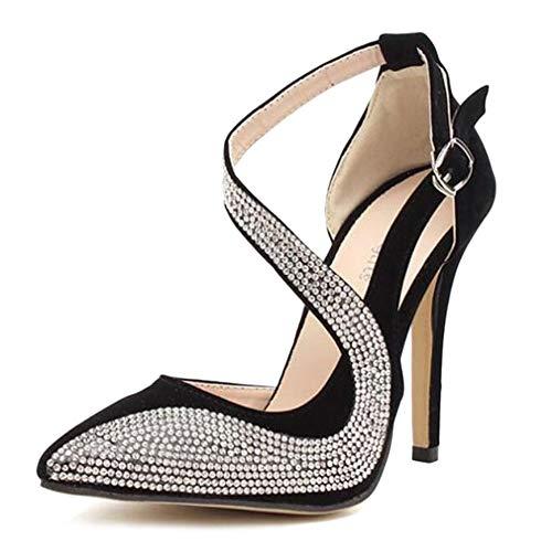 Scarpe Sandalo Toe Donna Sexy Spillo Alti Scarpe Tacchi A Cut Da Tacchi Scarpe   33734f