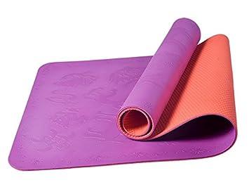 ATTOUPAN - Alfombrilla Antideslizante para Yoga, Yoga, Yoga ...