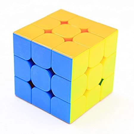 HJXDtech/® Little-Magic 3x3x3 Cube de Vitesse 55mm Noir Cube Magique Smoothly Rapide Twsit Puzzle Cube pour la Concurrence
