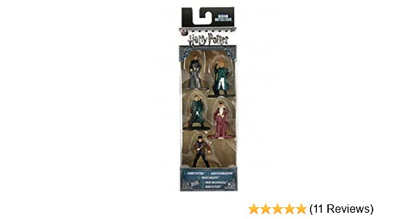 Harry Potter Nano MetalFigs Die-Cast Metal Mini Figure 5-Pack