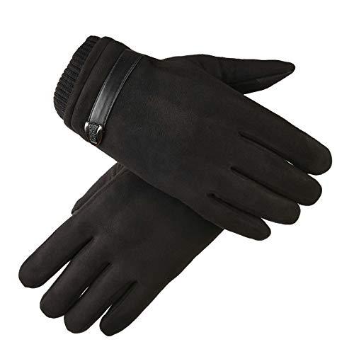 Femmes épaissi Contre A53 Gants Noir Froid Protection Le Écran Amdxd Sport Tactile De AaqwAx