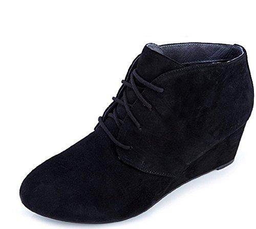 4 Orthotic Elevated Elevated FMT VionicVionic UK Technology Becca Wedge Boot Becca Boot Shoe Orthotic Shoe Black Wedge w 0qxqvaz