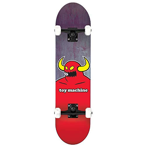 Toy Machine Monster Complete Skateboard, 7.75-Inch