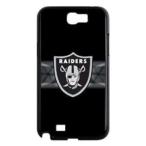 Oakland Raiders Logo Samsung Galaxy N2 7100 Cell Phone Case Black Ewezw