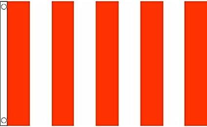 AZ FLAG Bandera a LINEAS Rojas Y Blancas 150x90cm - Bandera ROJA Y Blanca 90 x 150 cm: Amazon.es: Hogar