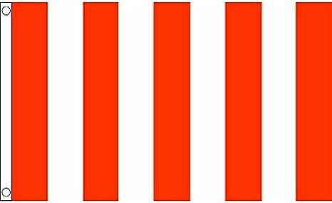 AZ FLAG Bandera a LINEAS Rojas Y Blancas 150x90cm - Bandera ROJA Y ...