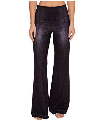 Lucy Women's Indigo Flare Pants Black Indigo Pants by Lucy