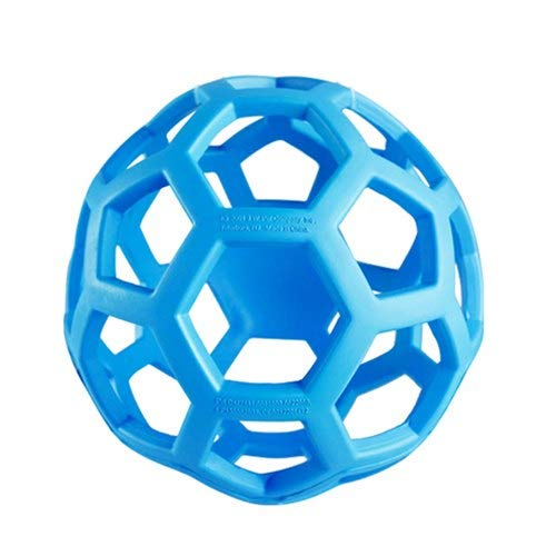 Other Cuz Natural Rubber - JW Geometric Ball Pet Dog Toys Natural Non-Toxic Rubber Ball Toy Chew Toys For Small Medium Large Dogs Pet Training Products