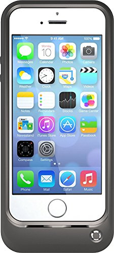 OtterBox Resurgence Power/Battery Case for Apple iPhone 5 / 5S / 5SE (Satin Rose Grey/Blaze Pink)